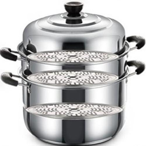 Nồi hấp 3 tầng inox cao cấp Cookware đa năng MATANNV008