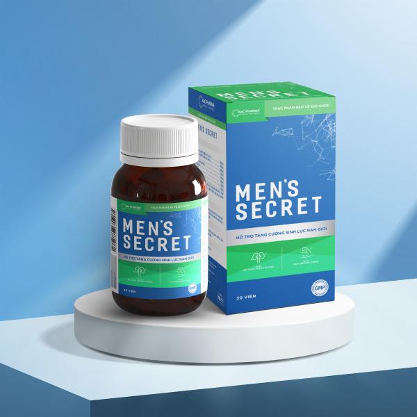 Thực phẩm hỗ trợ tăng cường sinh lực nam giới Mens Secret