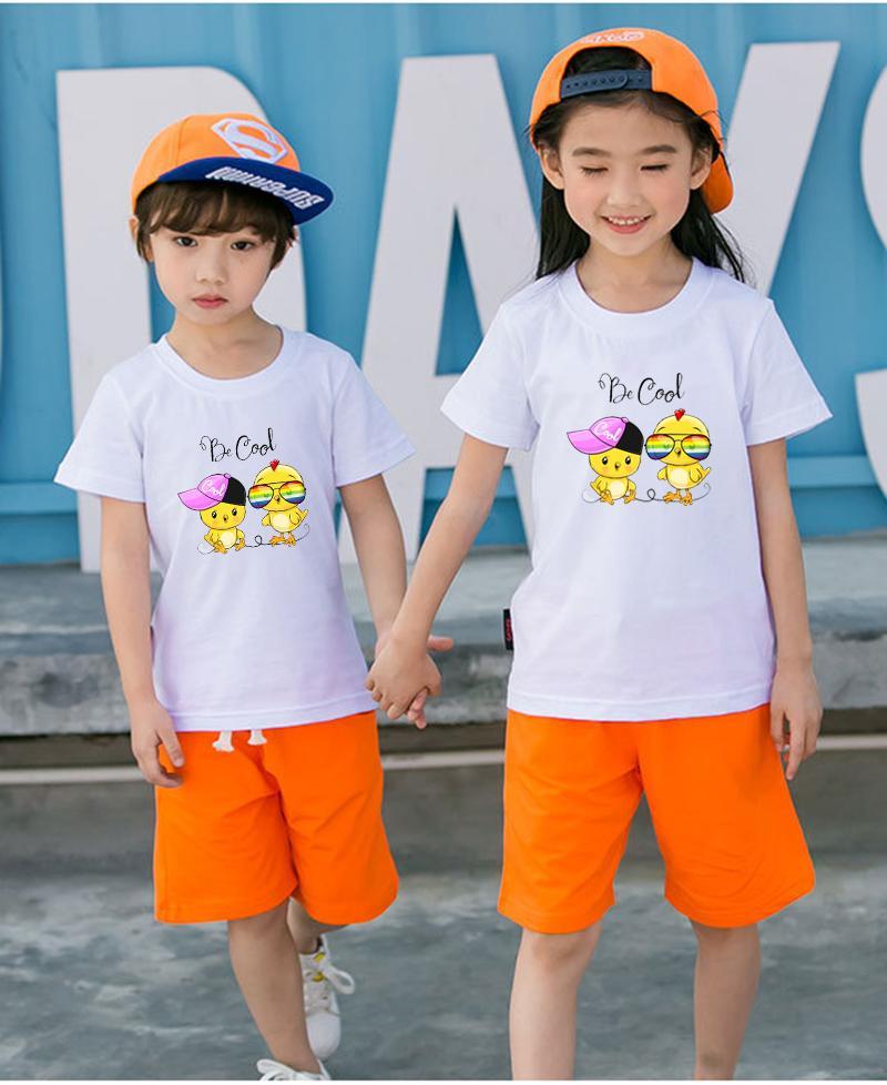 Áo thun trẻ em mềm mịn thoáng mát in hình dễ thương BG51