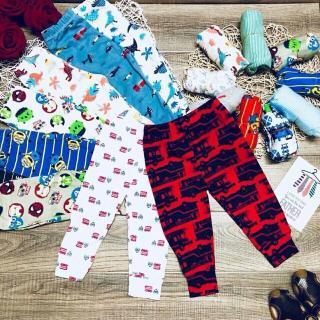 Quần dài Legging trẻ em vải đẹp,dày 5-45kg-set 3 quần thumbnail