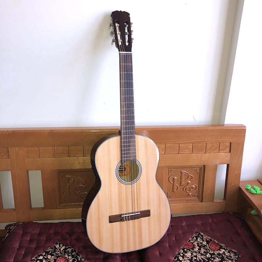 Đàn Guitar Classic Có EQ ra loa DVE70CX đàn ghi-ta classic đệm hát mẫu mới của Duy Guitar Store - Có clip test âm thanh