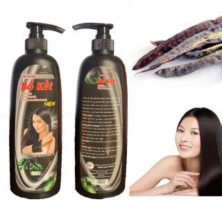 [GIẢM GÀU - GIÚP MỌC TÓC] Dầu Gội Bồ Kết Nguyên Chất 950ML Giảm Gàu Phục Hồi Tóc Hư Tổn Giảm Gãy Rụng, làm chậm quá trình bạc tóc- Giúp sạch gàu, đen tóc, mềm, suông mượt tóc thumbnail