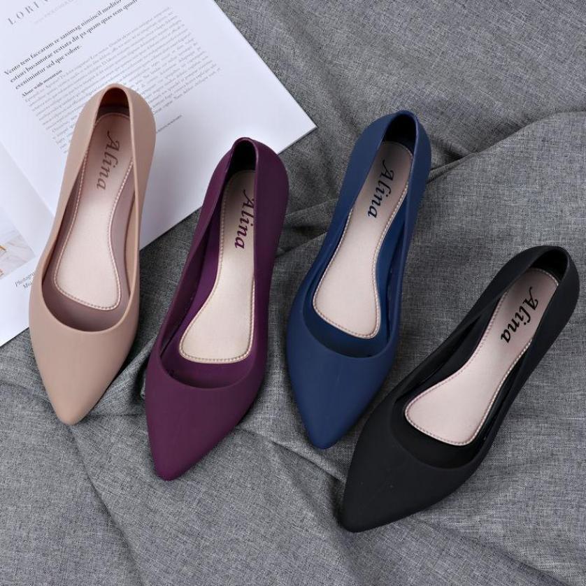 Giày búp bê giày công sở size 36 đến 40 có khả năng chịu nước, chống trơn trượt size 36 đến 40 mẫu V158 giá rẻ