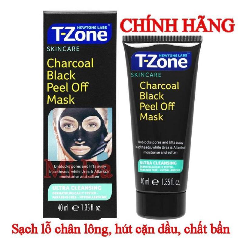 Mặt nạ tẩy da chết T-Zone Charcoal Purifying 75ml Anh Quốc nhập khẩu