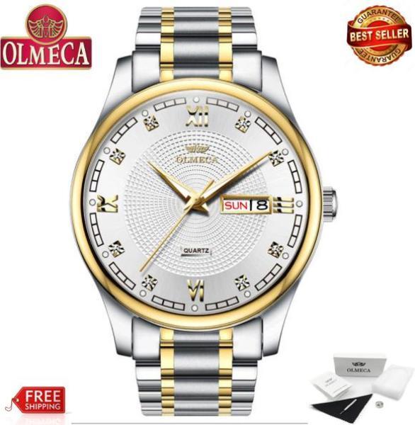 Nơi bán Đồng hồ Olmeca nam dây thép siêu đẹp 758M (fullbox)