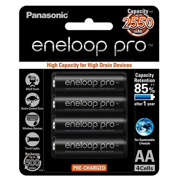 Bảng giá Pin sạc AA Eneloop pro dung lượng cao 2550mah