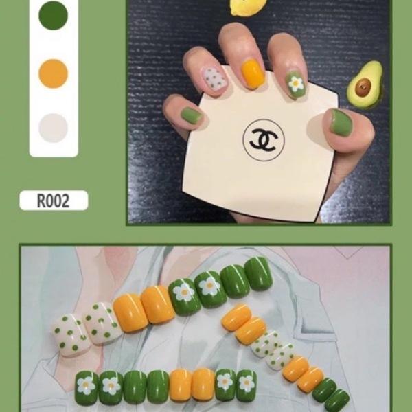 Set 24 Móng Tay Giả Cao Cấp Cho các Bạn Gái Làm Đẹp