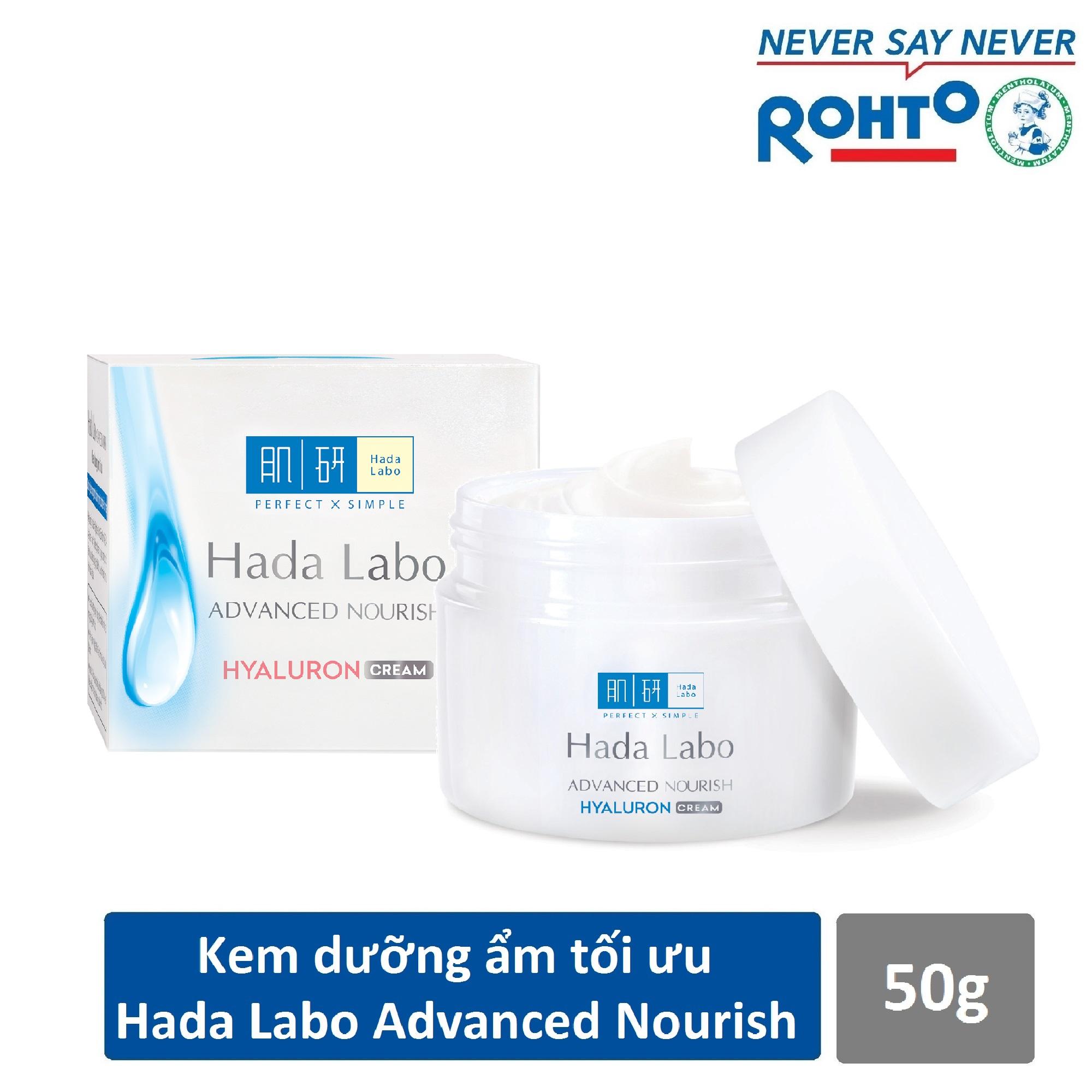 Kem dưỡng ẩm tối ưu Hada Labo Advanced Nourish Cream 50g