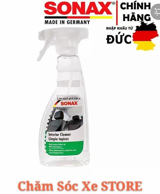Dung dịch vệ sinh nội thất xe hơi SONAX 321200- SONAX CAR INTERIOR CLEANER