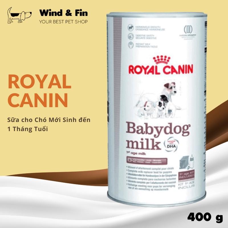 Sữa cho Chó Con ROYAL CANIN Baby Dog Milk 0-2 Tháng Tuổi 400g