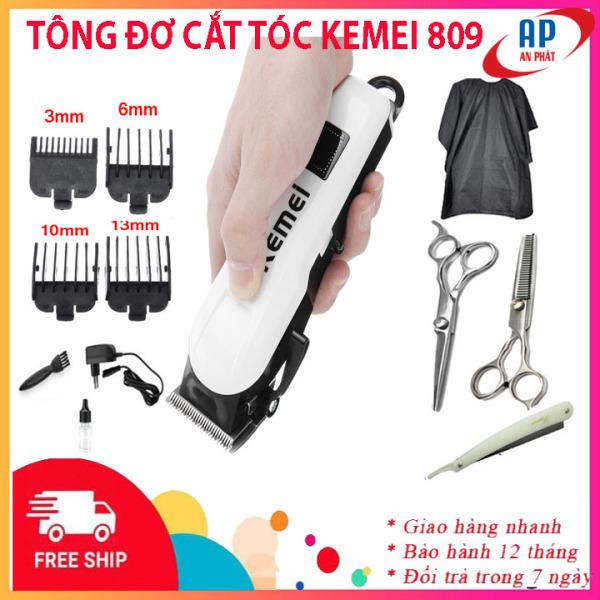[Xả kho 3 ngày] Tông đơ cắt tóc Kemei 809A không dây cao cấp màn hình LCD hiển thị- Tăng đơ hớt tóc cho bé, người lớn, trẻ em, gia đình, thú cưng tại nhà chuyên nghiệp, tong do cat toc ,tăng đơ cắt tóc