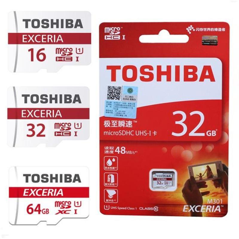 Thẻ Nhớ Micro SD Toshiba 32G Class 10 Box Đỏ
