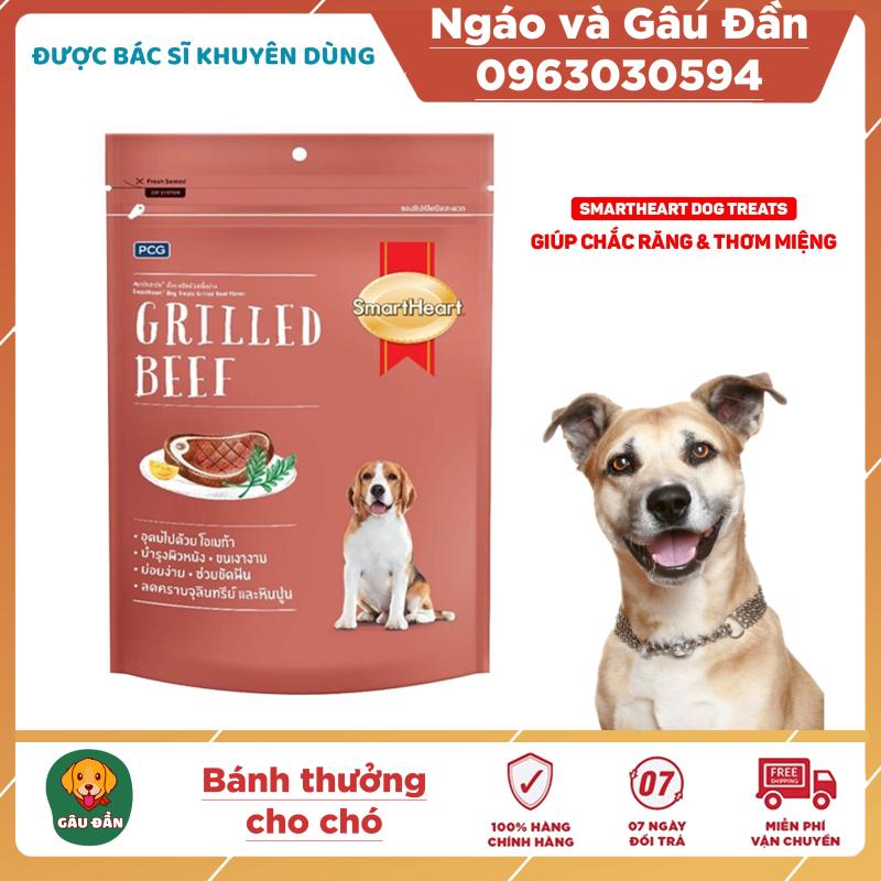 Bánh thưởng cho chó SmartHeart túi 100g giúp chắc răng thơm miệng