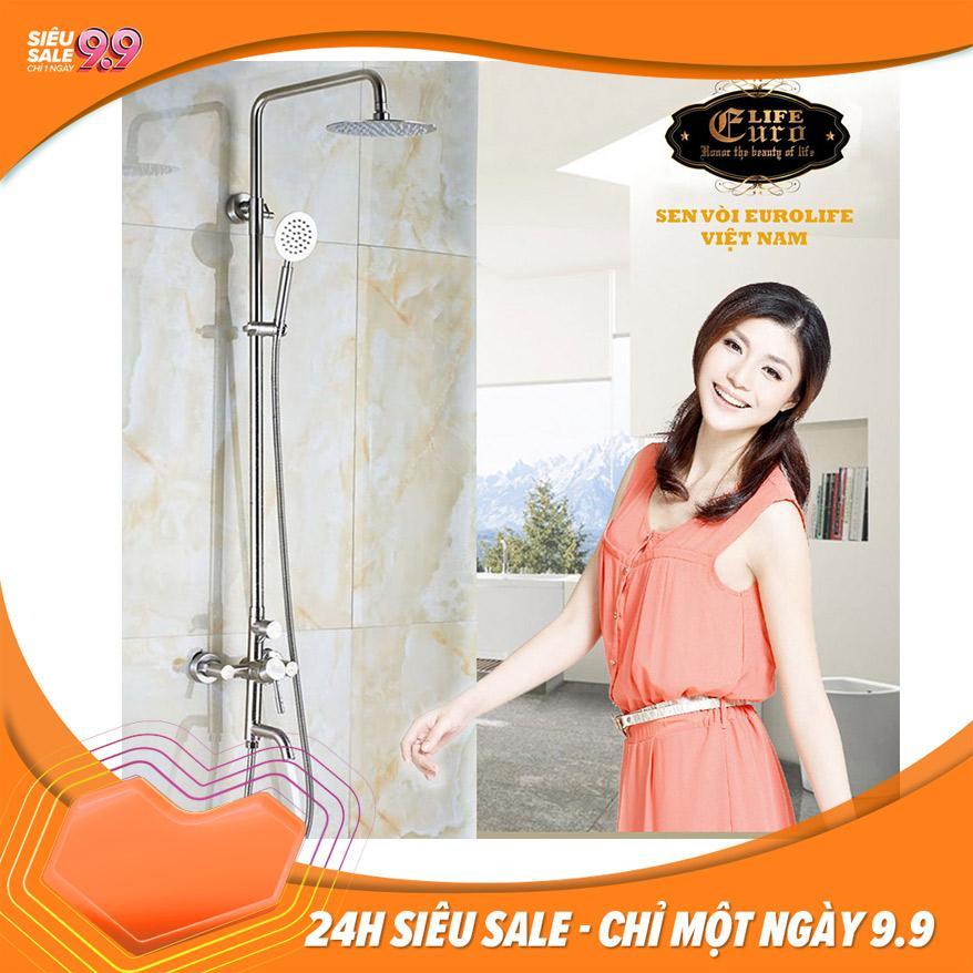 Bộ sen cây tắm đứng nóng lạnh Inox SUS 304...