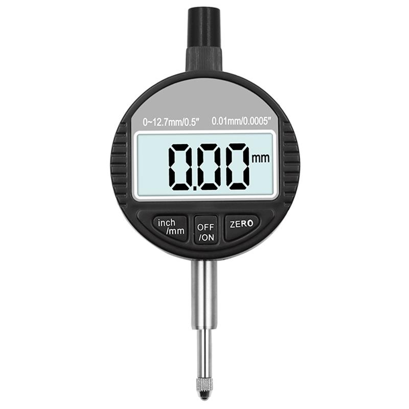 "0.01mm//0.0005/"" Range 0-12.7mm//1/"" Gauge Digital Dial indicator Precision Tool New"