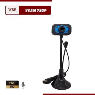 Webcam cho máy tính Vcam 1080P Full HD Chân Cao Có Mic , Họp Công Ty Học Tại Nhà 4.0, Video cực nét,Âm Thanh Chuẩn,Cắm Vào Máy Tính Là Dùng Luôn, Bảo Hành Uy Tín Tại 3 Tốt Store thumbnail