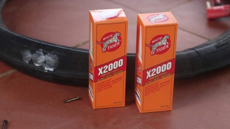 Combo 2 lọ keo dán X2000 siêu dính đa năng