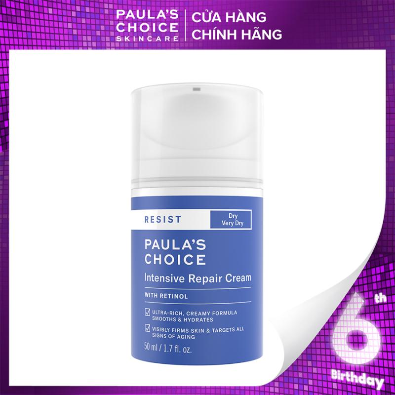 Kem dưỡng ẩm siêu cao cấp ngừa thâm nám và nếp nhăn Paula's Choice RESIST Intensive Repair Cream 50 ml 7810 giá rẻ