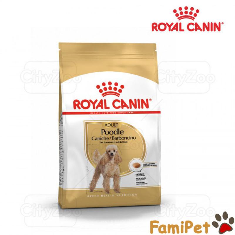 Hạt Thức Ăn Khô Royal Canin Cho Chó Poodle Trưởng Thành 1,5kg – Royal Canin Poodle Adult