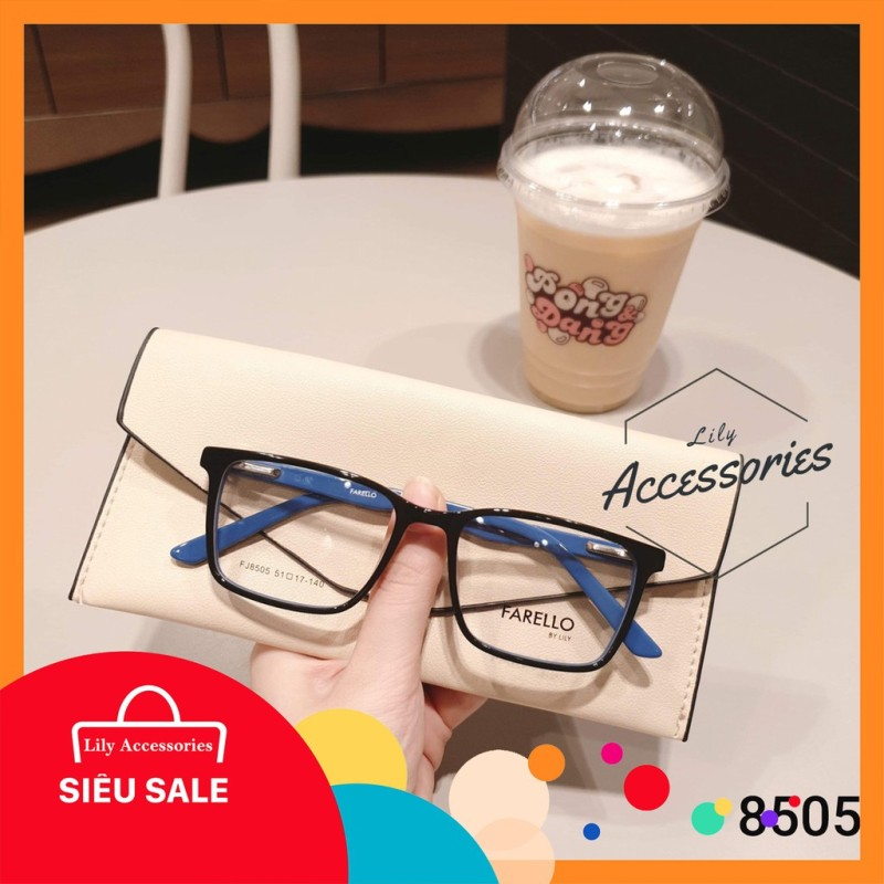 Giá bán Gọng kính cận thời trang  Gọng cận vuông 8505