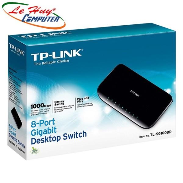 Bảng giá Bộ Chia Switch 8 Cổng Gigabit Tplink Tl-Sg1008D Phong Vũ