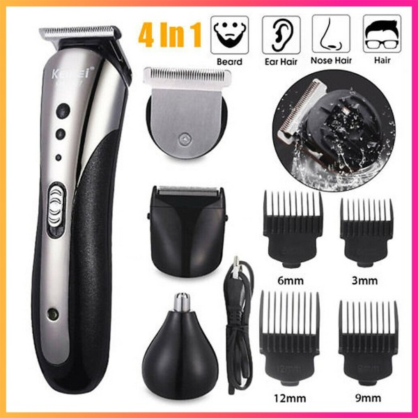 Tông đơ cắt tóc kiêm cạo râu, tỉa lông mũi 3 trong 1 chính hãng Kemei 1407,máy cắt tóc,tăng đơ cắt tóc,tông đơ cắt tóc,tông đơ kemei,tông đơ cắt tóc trẻ em,máy cắt tóc cho bé,tông đơ cắt tóc chuyên nghiệp - GIA DỤNG VIỆT NAM giá rẻ