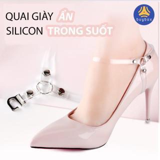 Quai giày cao gót chữ Y chống tuột gót cho dáng đi tự tin có loại dây ẩn bằng silicon trong suốt - buybox - BBPK51 thumbnail