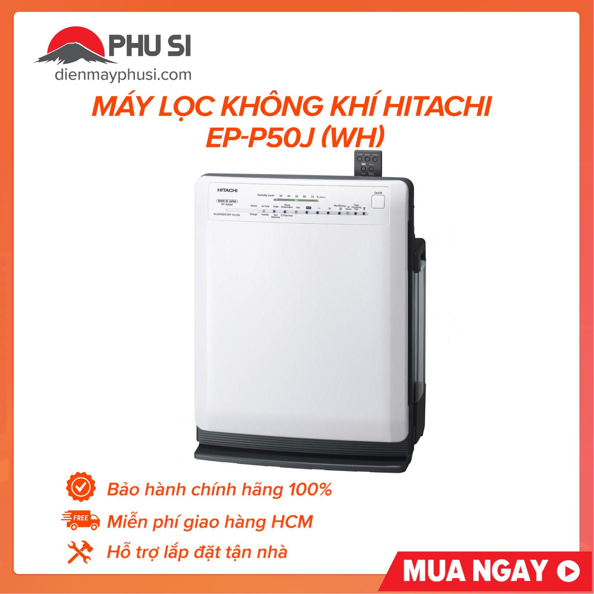 Bảng giá Máy Lọc Không Khí Hitachi EP-P50J (WH)