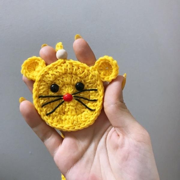 Giá bán Túi tỏi hình chuột vàng cho bé
