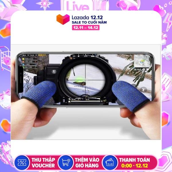 Bao ngón tay chống trơn, mồ hôi tay cho game mobile ( 1 cặp )