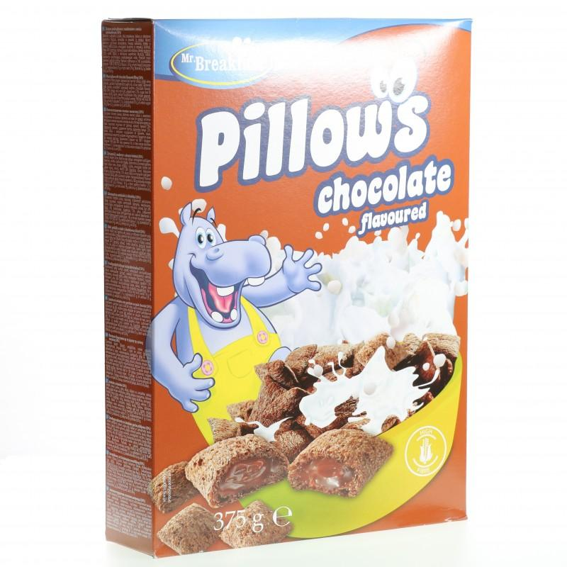 Bánh ngũ cốc Bakalland Pillows chocolate hộp 375g