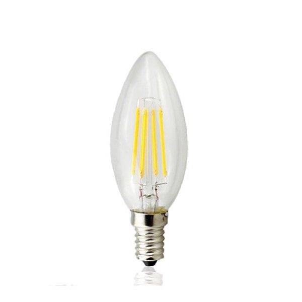 [HCM]Bộ 2 bóng đèn Led giả dây tóc Edision 2 đường Led 4W đuôi E14 ( Ánh Sáng Vàng)