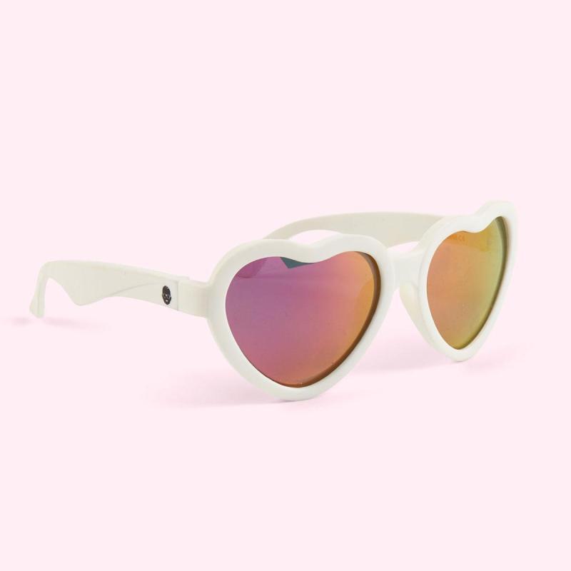 Mua Kính chống tia cực tím có tròng kính phân cực cho bé Babiators – The Sweetheart, tráng gương hồng, 3-5 tuổi