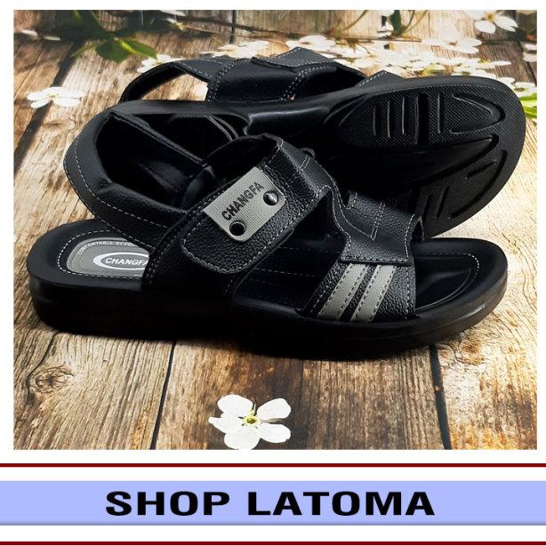 Giày Sandal nam quai da, giày xăng dan có quai hậu, học sinh sinh viên mang đều phù hợp và độc đáo vận động du lịch thoải mái kiểu dáng cổ điển thời trang cao cấp Latoma TA4331 (Nhiều Màu) giá rẻ