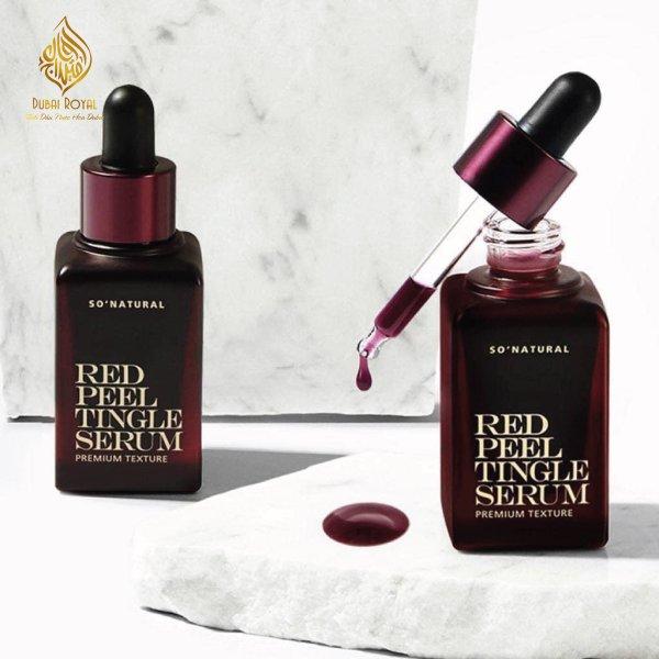 Tinh Chất Thay Da Sinh Học So'Natural Red Peel Tingle Serum 35ml