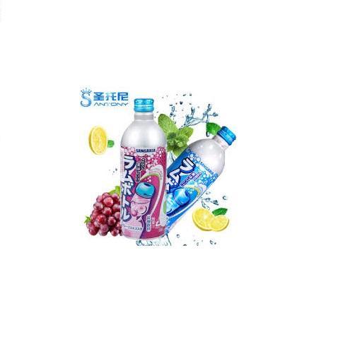 Soda Sangaria Nhật Vị Nho, Dưa Lưới,Soda 500g