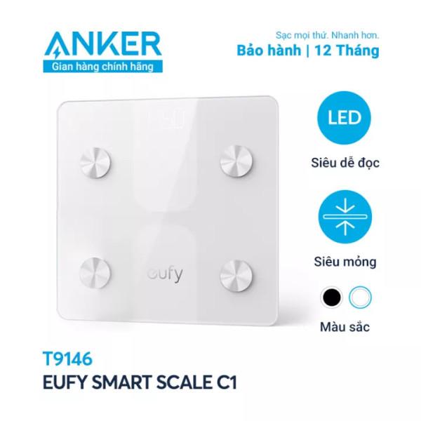 [Anker Việt Nam] Cân điện tử Eufy Smart Scale C1 - T9146