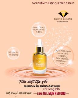 [HCM]GEL mụn Queenie skin giúp loại bỏ mụn trên da dưỡng da trắng hồng sau mụn thumbnail