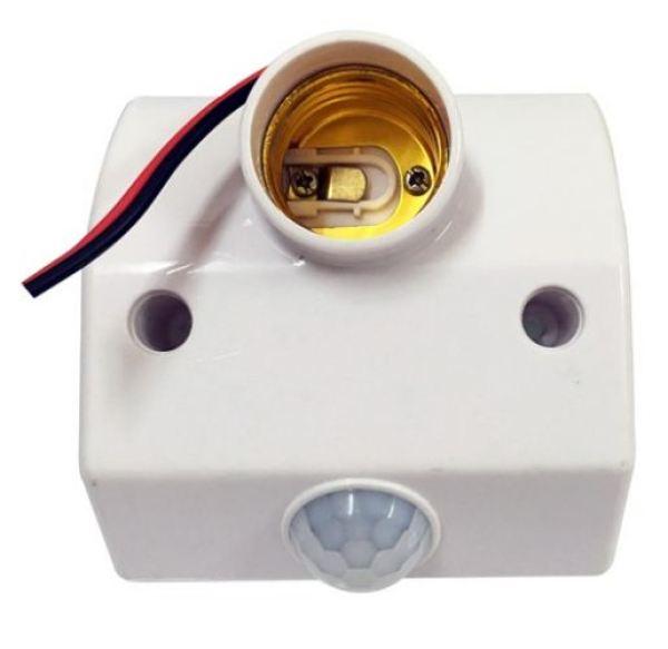 Đui đèn CẢM BIẾN ÁNH SÁNG - cảm ứng CHUYỂN ĐỘNG HỒNG NGOẠI chuẩn E27