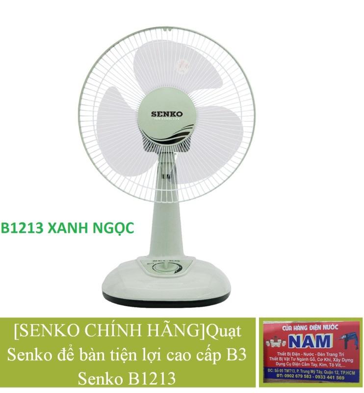 [SENKO CHÍNH HÃNG]Quạt Senko để bàn tiện lợi cao cấp B3 Senko B1213