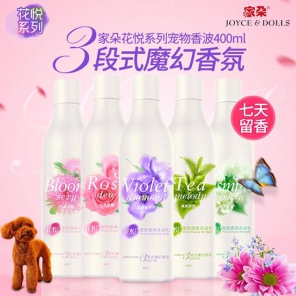 Sữa tắm nước hoa chó mèo Joyce & Dolls các mùi hương – 400ml