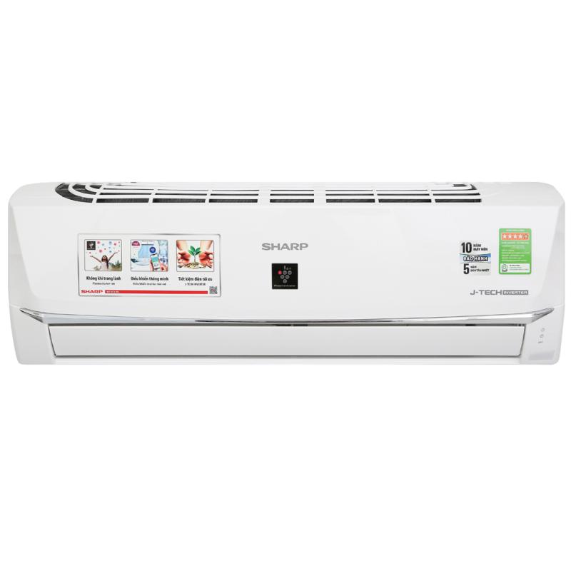 Máy lạnh Super Inverter Ion Sharp AH-XP10WHW 1.0HP