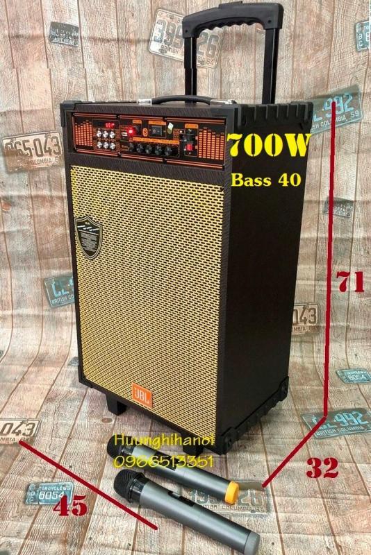 Loa kéo karaoke hát cực hay bass 4 tấc JA 15 thùng gỗ nặng 20kg công suất 700W - loa karaoke di động giá rẻ - loa kéo giá rẻ.bluetooth.karaoke.nghe nhạc.kẹo kéo.mini.bass mạnh.giá rẻ.công suất lớn.led 7 màu.gia đình.cỡ lớn