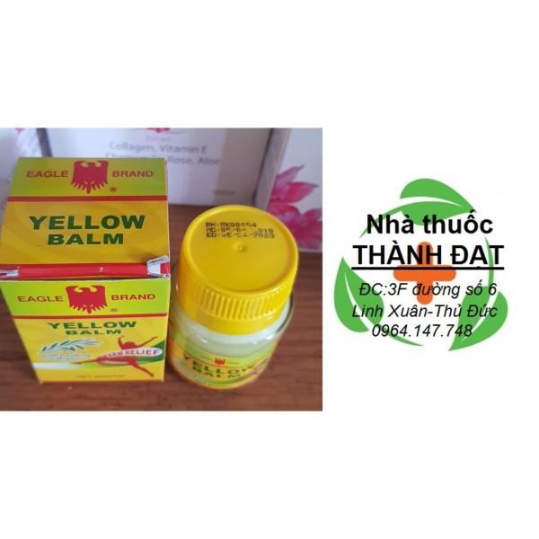Dầu cù là vàng con ó - cao xoa Eagle Yellow Balm 40g, sản phẩm chất lượng, đảm bảo an toàn sức khỏe người dùng, vui lòng inbox shop để được hỗ trợ