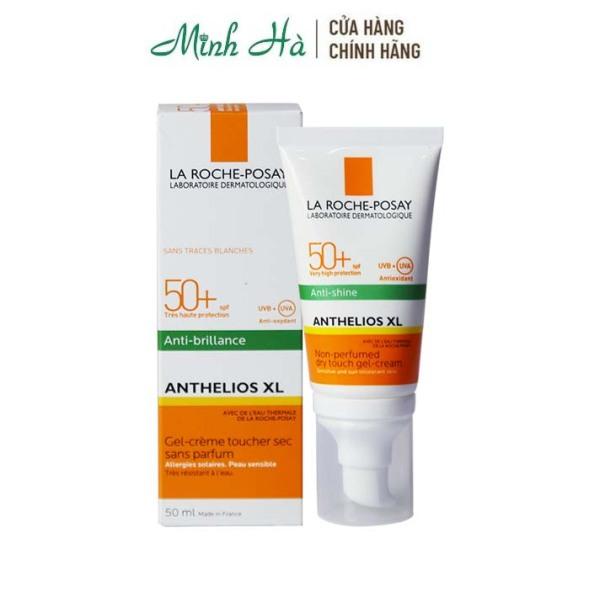 Kem chống nắng La Roche Posay Anthelios XL Anti-Shine SPF 50+ 50ml giúp kiểm soát bóng nhờn và bảo vệ da cao cấp