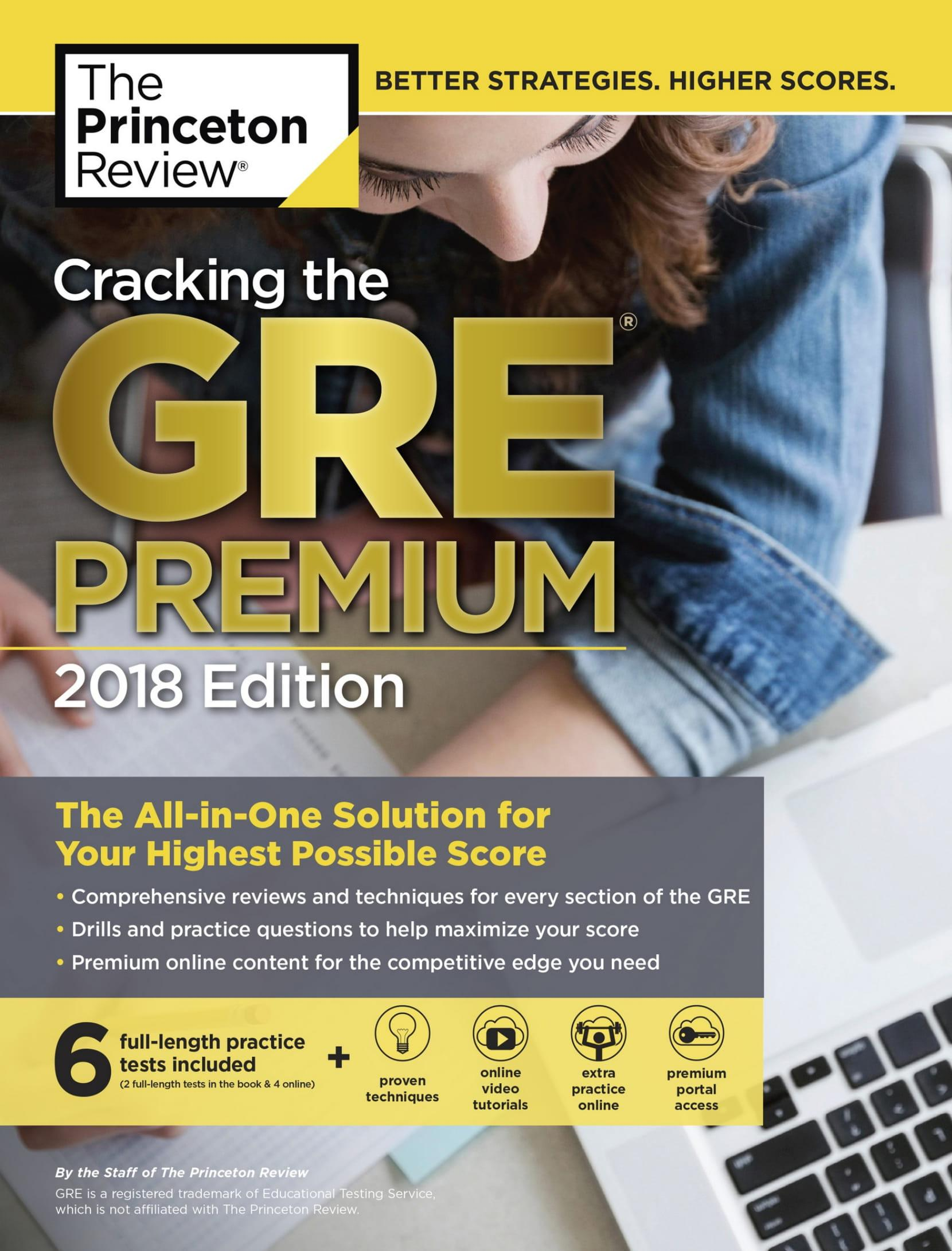Mua Cracking the GRE Premium Edition with 6 Practice Tests, 2018