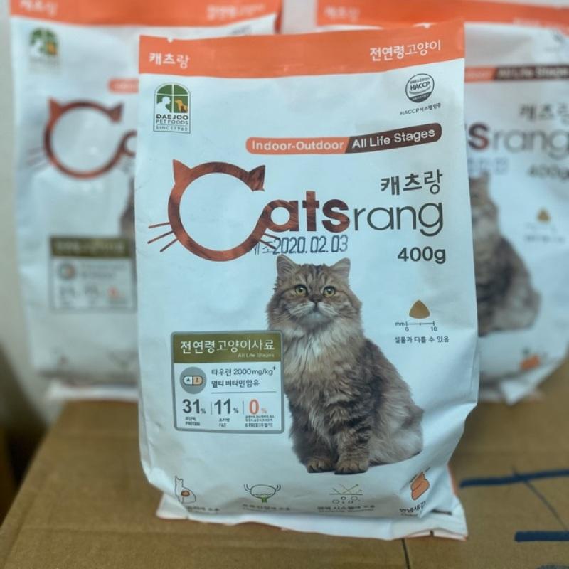 [HCM]400gr Catsrang thức ăn cho mèo nhập khẩu Hàn Quốc chất lượng đảm bảo an toàn đến sức khỏe người sử dụng cam kết hàng đúng mô tả