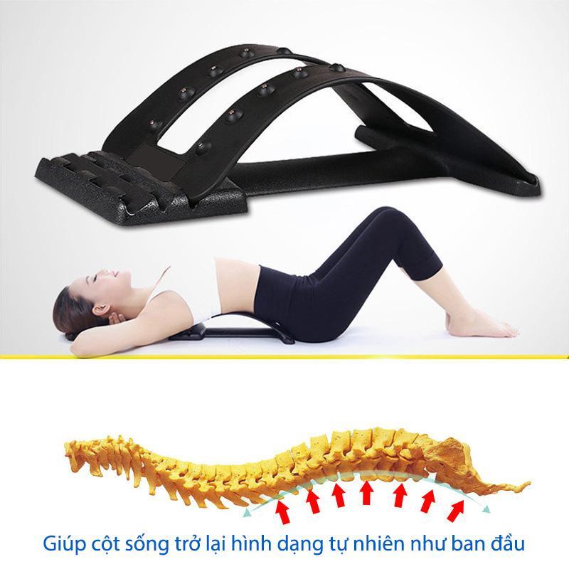 Khung nằm điều trị bệnh lý đau cột sống, thiết bị điều trị thoát vị đĩa đệm, thoái hóa cột sống, đau lưng, đau thần kinh tọa, đau vai gáy cao cấp