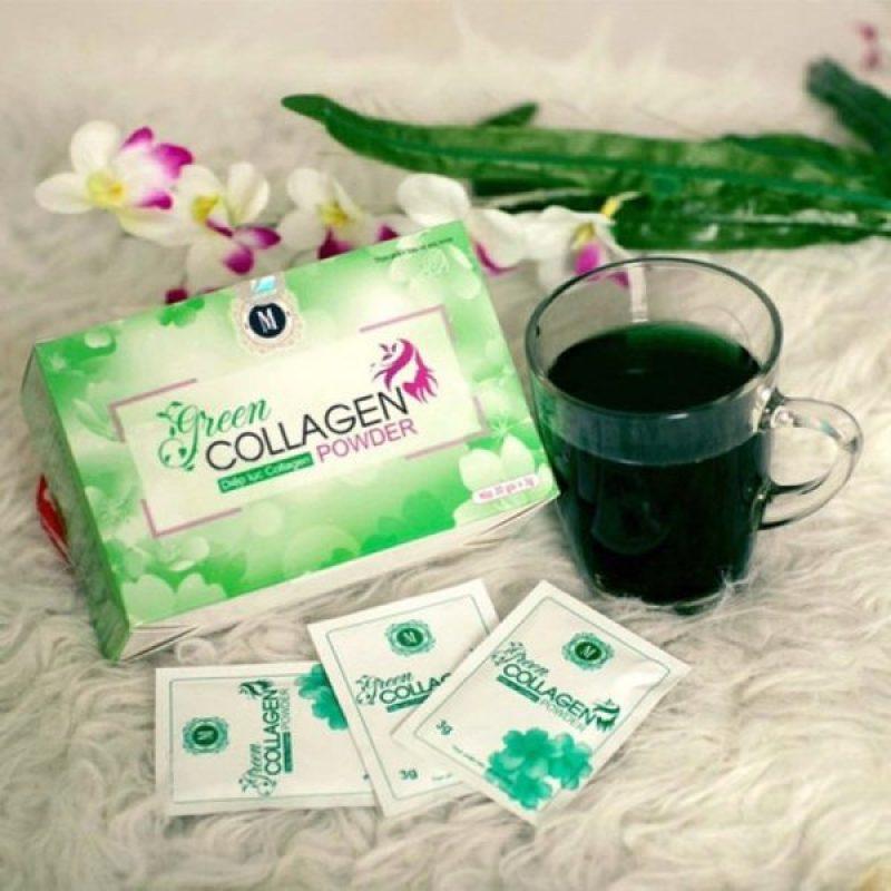 Diệp lục collagen hỗ trợ làm đẹp da giá rẻ