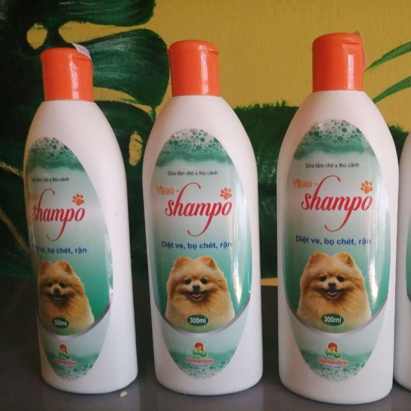 sữa tắm chó mèo shampo